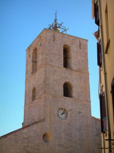 Hyères - Romanesque bell tower of the Saint Paul collegiate church