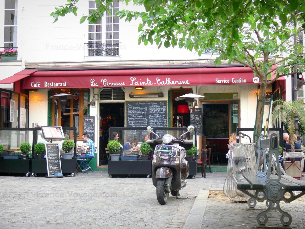 Photos guide d 39 ile de france tourisme vacances week end for Restaurant avec terrasse ile de france