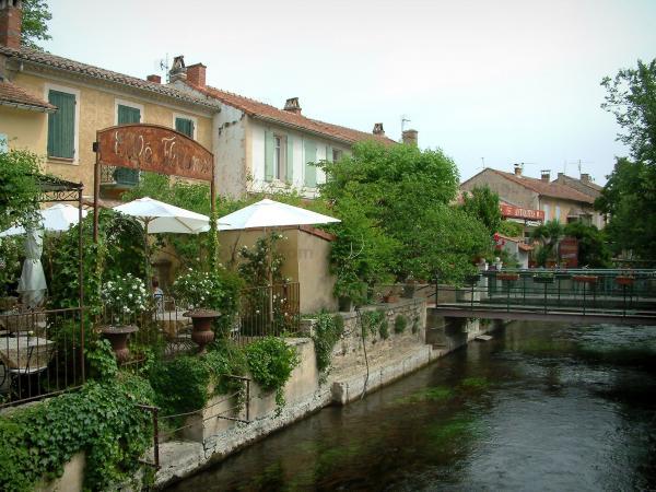 Lu0027Isle Sur La Sorgue   Sorgue River And Antique Dealeru0027s Shop