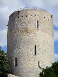 Issoudun - White tower (Tour Blanche keep)
