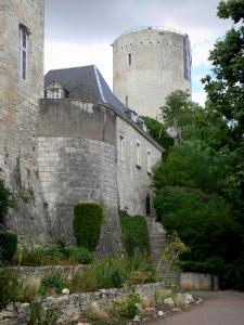 Issoudun - Below the White tower (Tour Blanche)