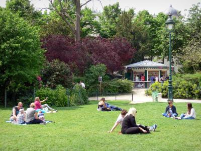 Le jardin du champ de mars guide tourisme vacances - Comment supprimer le liseron au jardin ...