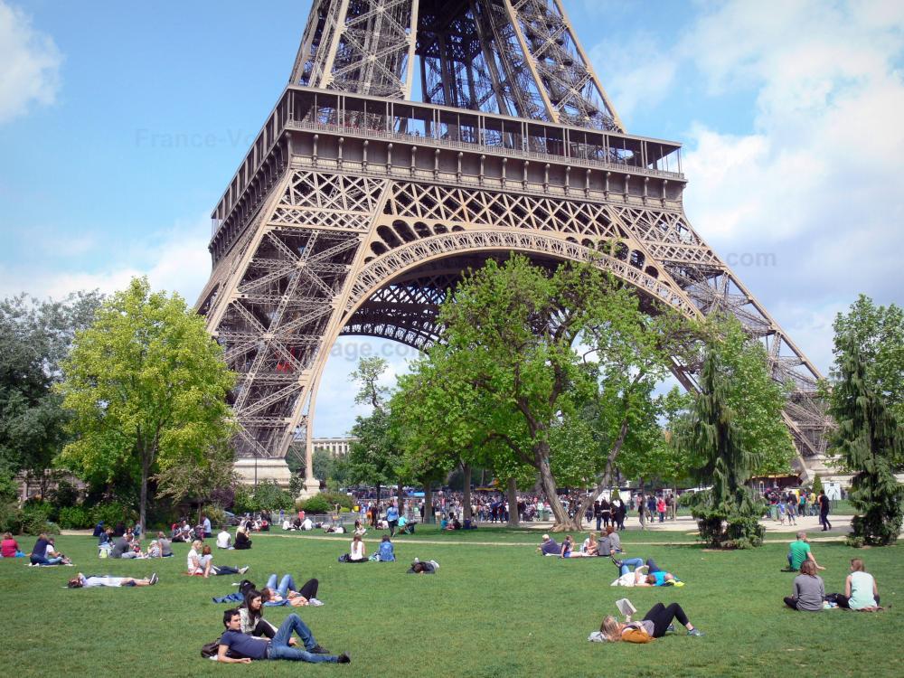 Photos le jardin du champ de mars guide tourisme for Au jardin de la tour