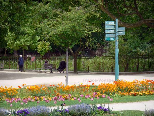 El jard n de las plantas gu a turismo y vacaciones for Guia de plantas de jardin