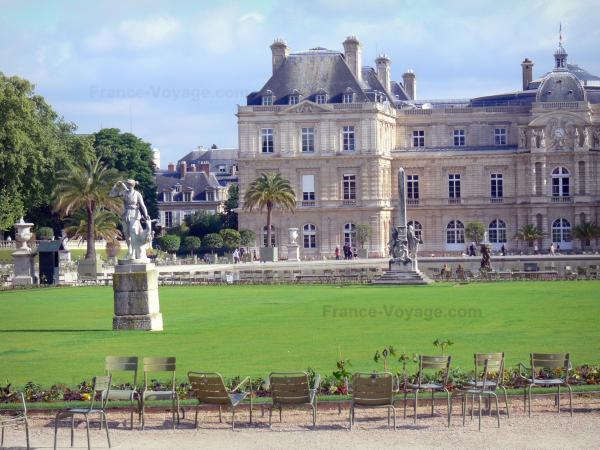 Jardin du luxembourg 19 images de qualit en haute - Chaise jardin du luxembourg ...