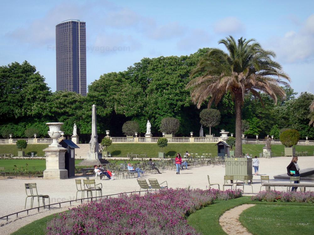 Photos le jardin du luxembourg guide tourisme vacances for Jardin luxembourg