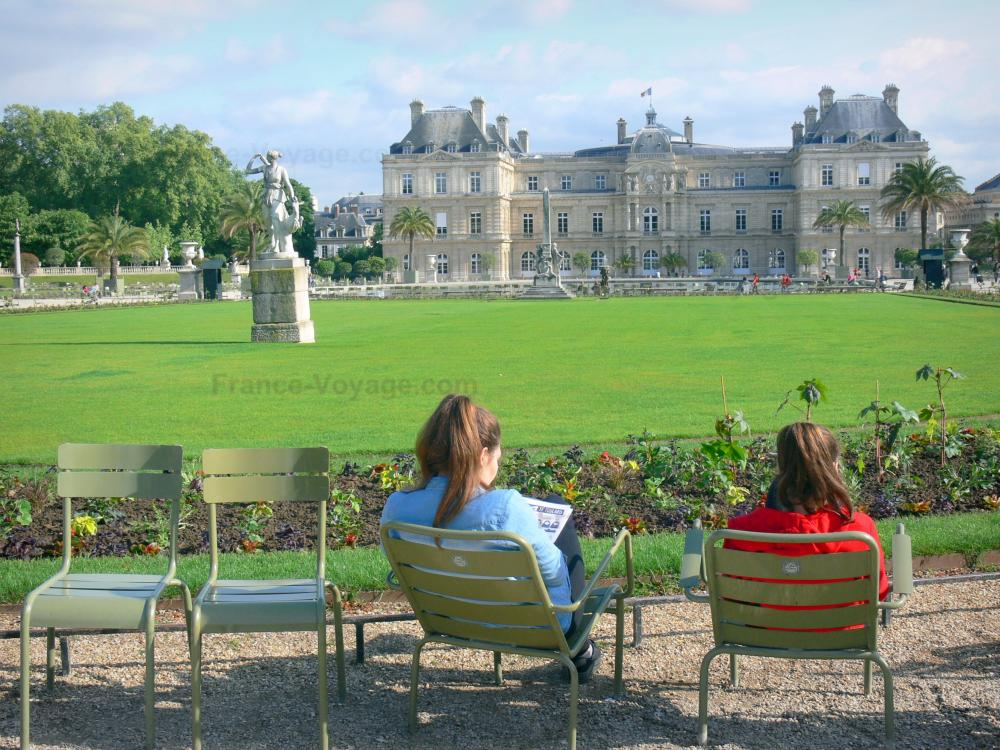 Photos le jardin du luxembourg guide tourisme vacances for Le jardin luxembourg