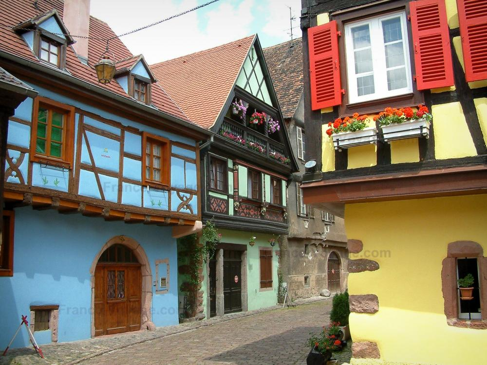 Gallery of kaysersberg case a graticcio con facciate a - Colori facciate case ...