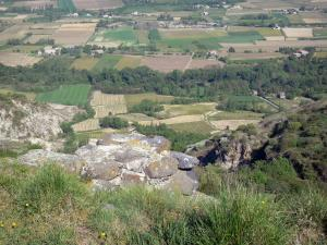 Landscapes of the Ardèche - View of the Coiron plateau