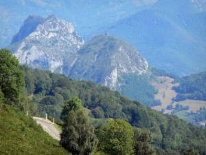 Landscapes of Ariège - Views of the Pyrenees mountains