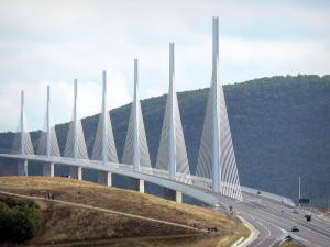 Landscapes of Aveyron - Millau viaduct