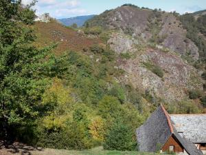 Landscapes of Aveyron - House in a wild and green setting
