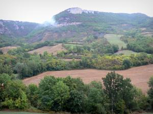 Landscapes of Aveyron - Landscape of the Grands Causses Regional Nature Park