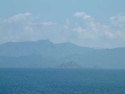 Landscapes of the Corsica coast