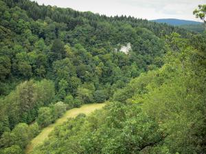 Landscapes of the Doubs - Green landscape
