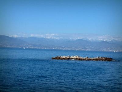 Landscapes of the French Riviera coast