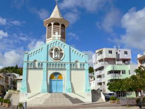 Landscapes of Martinique - Facade of the Church of the River Pilot Immaculate Conception