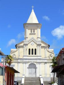 Landscapes of Martinique - Facade of the Holy Spirit