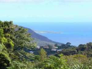 Landscapes of Martinique - Green coast