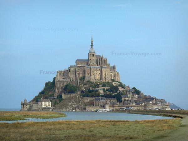 Landscapes of Normandy - Mont-Saint-Michel and its bay