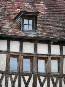 Langres - Half-timbered house