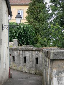 Langres - Wall Lantern Lane y el casco antiguo