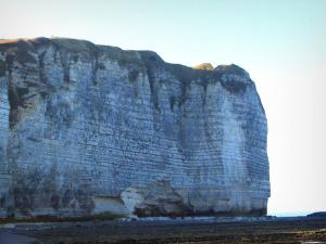 Lanscapes of Normandy - Cliff of the Alabaster coast