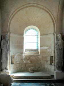 Laon - Inside the chapel of the Templars