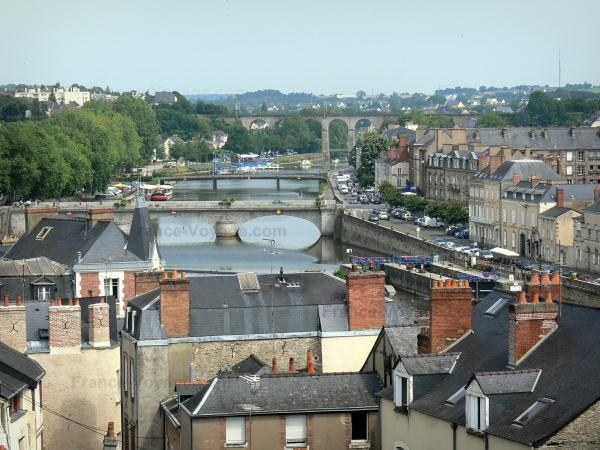 Laval - Tourism, holidays & weekends guide in the Mayenne