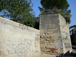 Lectoure - Walls (fortifications) of the town