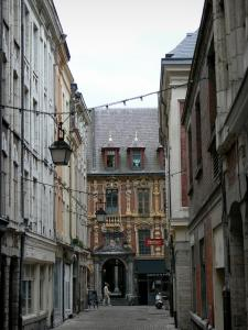 Lille - Vieille Bourse and houses of Vieux-Lille (old town)