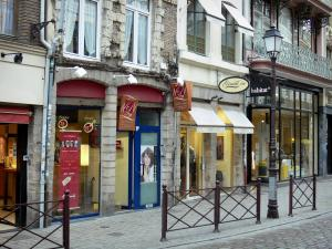Lille - Houses and shops of Vieux-Lille (old town)