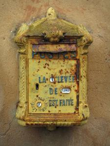 Limeuil - Ancient mailbox, in Périgord