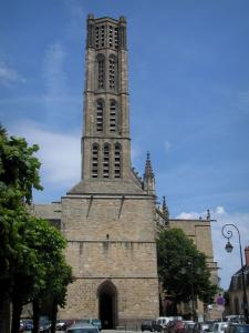 Limoges - Bell tower of the Saint-Etienne cathedral