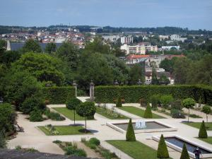 Limoges - Gardens of the Bishop's palace