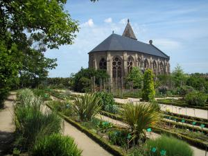 Limoges - Gardens of the Bishop's palace (botanical garden)