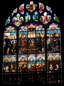 Limoges - Stained glass windows of the Saint-Michel-des-Lions church