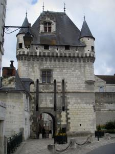 Loches - The Cordeliers gateway