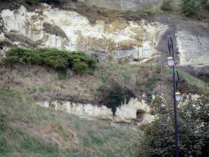 Loire-Anjou-Touraine Regional Nature Park - Cliff, in Saumur