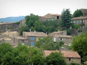Luberon - Houses in a village