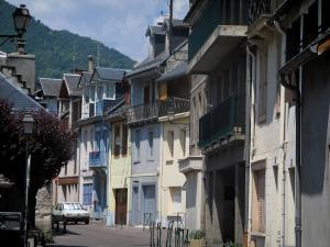 Luchon - Houses of the spa town