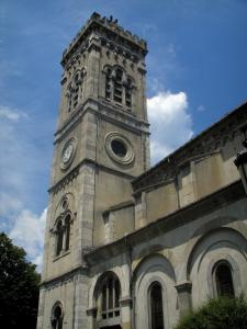 Luchon - Church of the spa town