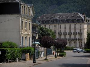 Luchon - Buildings of the spa town
