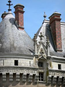 Le Lude castle - Detail of the castle