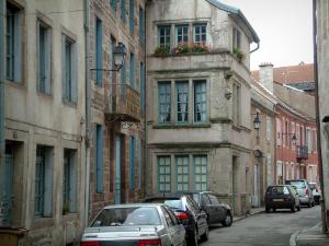 Luxeuil-les-Bains - Houses of the spa town