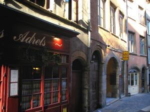 Lyon - Old Lyon: houses of the Boeuf street