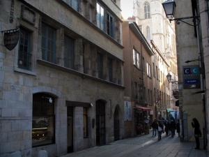 Lyon - Old Lyon: Saint-Jean street and Chamarier house
