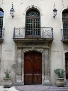 Manosque - Facade of the town hall
