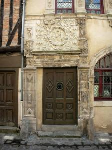 Le Mans - Old Mans - Plantagenet town: Adam and Eve's house