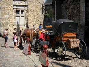 Le Mans - Carriage rides in the Plantagenet town